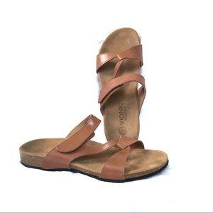 Vionic Orthaheel Pamplona Velcro strap sandal 42